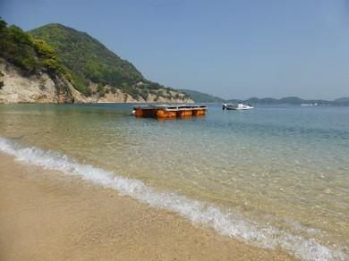 瀬戸内海の無人島「ありが島」
